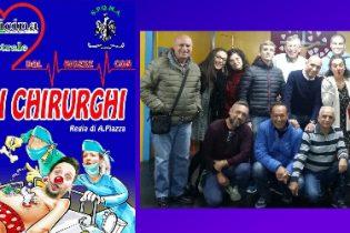 Augusta| Gli Allegri Chirurghi in scena domenica a Città della notte