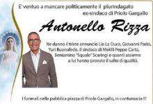 Priolo| Manifesti funebri per Antonello Rizza