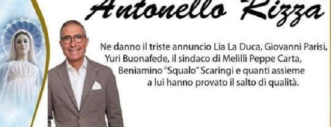 Priolo  Manifesti funebri per Antonello Rizza