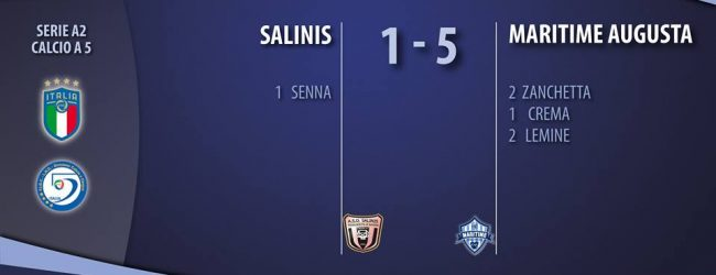 Augusta| Maritime, ottava vittoria consecutiva sul campo della Salinis