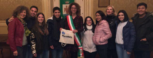 Augusta  Studenti di intercultura al municipio