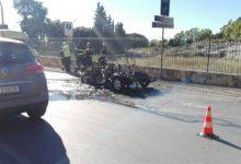Siracusa| Minicar in fiamme, la 15enne sta bene