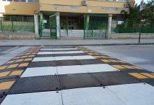 Augusta| Pedana sopraelevata nell'attraversamento pedonale del Todaro