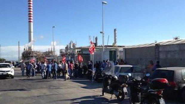 Priolo| Scongiurato blocco portinerie Eni Versalis