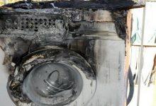Lentini| Cortocircuito all'impianto elettrico, a fuoco per fortuna solo la lavatrice