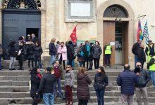 Francofonte | Dipendenti comunali part-time, sit-in davanti al palazzo municipale