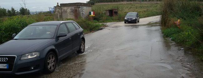 Augusta  Lago di contrada San Giorgio straripante in cantiere un progetto