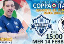 Augusta| Calcio a 5, Coppa Italia A2: il Maritime riceve il Lido di Ostia, in palio la Final Four