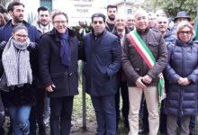 Carlentini | Ricordato il massacro delle foibe, una targa commemorativa a villa Vittorio Veneto