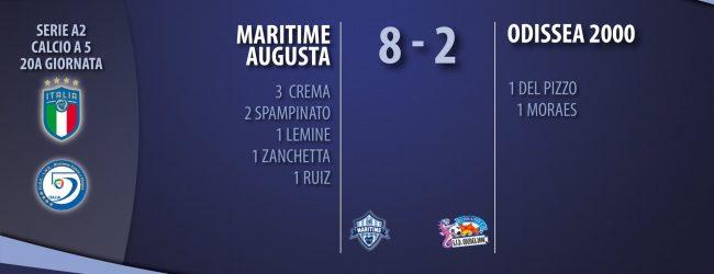 Augusta| Serie A2, Calcio A 5: Maritime a caccia di uno storico en plein contro l'Odissea
