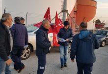 Priolo| Sit in autotrasportatori alla portineria Isab Sud