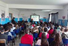 Augusta  Gli alunni del Corbino incontrano Francesco Malavolta