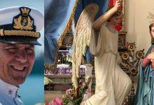 Augusta  Contrammiraglio De Felice confrate onorario della congregazione naviganti