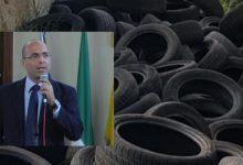 Augusta| In contrada Monaca discarica di pneumatici. Di Mare denuncia alla Procura
