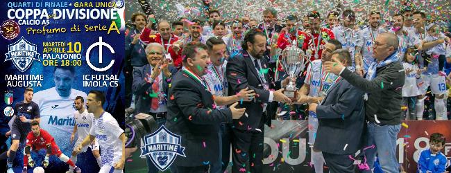 Augusta| Coppa della Divisione. Domani il Maritime riceve l'Imola. In palio l'accesso alla Final Four