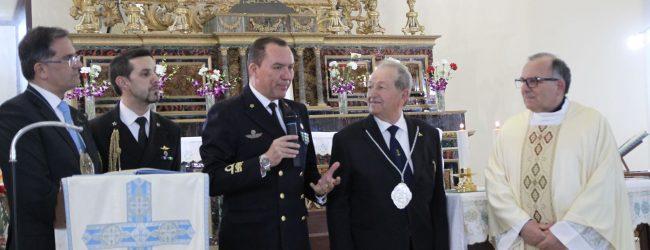 Augusta  Il contrammiraglio De Felice confrate onorario della congregazione dei Naviganti