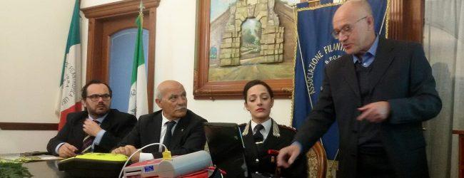 Augusta  Rotary e Umberto I donano defibrillatore ai Carabinieri