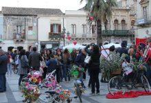 Augusta| La festa della bici in fiore ha fatto rivivere il centro storico