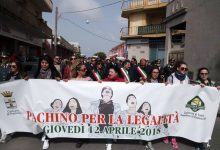 Pachino| Tutti in marcia contro mafie ed omertà