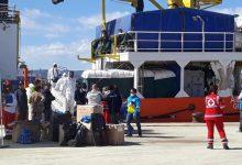 Augusta| Sbarco al porto commerciale di 483 migranti