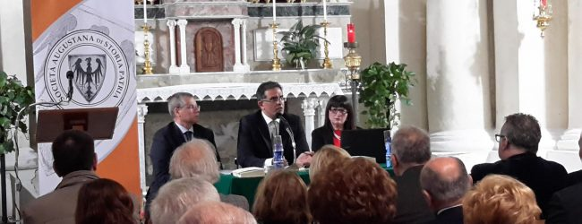 Augusta| Tenuta a battesimo la Società Augustana di Storia Patria<span class='video_title_tag'> -Video</span>