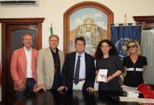 Augusta  Assessore ai beni culturali in visita ad Augusta con  Archeoclub