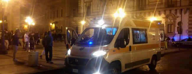 Augusta  Lite cruenta in piazza Duomo: 2 feriti davanti a centinaia di persone