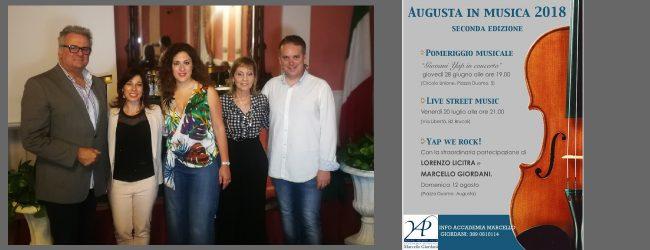 Augusta| Eventi musicali per Augusta offerti dalla Yap di Marcello Giordani<span class='video_title_tag'> -Video</span>