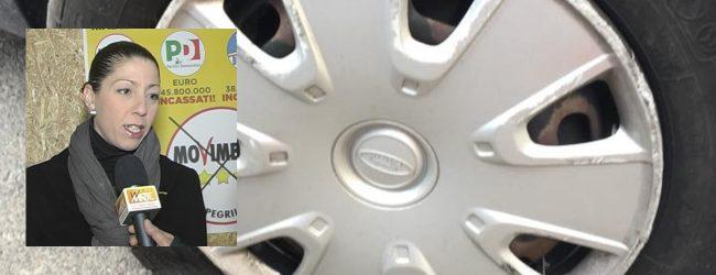 Augusta| Bucate le gomme della macchina del sindaco