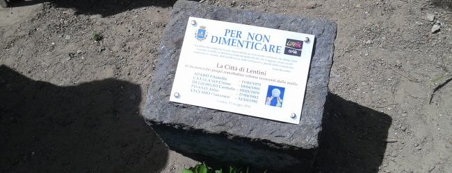 Lentini | Giornata della memoria e dell'impegno, martedì mattina a Villa Marconi