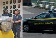 Catania| Guardia di Finanza: sequestrati 50 kg di marijuana. Arrestato un corriere albanese