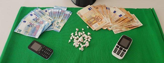 Lentini   Fiumi di droga, giovane fermato con 45 dosi di cocaina