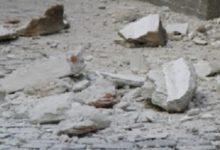 Francofonte | Crolla cornicione di un vecchio palazzo, paura nel quartiere
