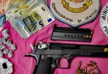 Lentini | Droga, denaro e un mini arsenale in un casolare abbandonato