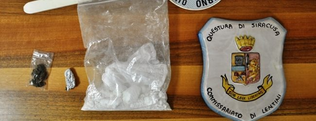 Lentini   Cocaina nascosta negli slip, due giovani lentinesi in manette
