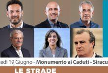 Siracusa  Oggi racconti in musica con la giunta Italia