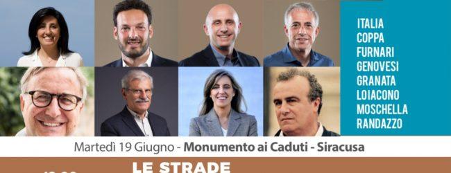 Siracusa| Oggi racconti in musica con la giunta Italia
