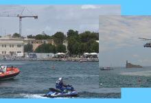Augusta| Guardia costiera: esercitazione recupero naufrago<span class='video_title_tag'> -Video</span>