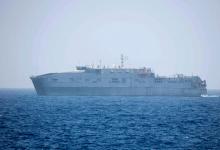 Augusta| A largo la nave Usa Trenton con 41 migranti a bordo