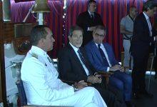 Augusta| Sviluppo porto tema di un incontro a bordo della Palinuro con Musumeci<span class='video_title_tag'> -Video</span>