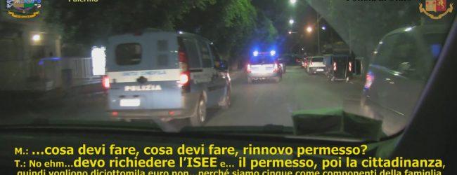 Palermo  Favoreggiamento dell'immigrazione clandestina. Sono 9 gli arrestati<span class='video_title_tag'> -Video</span>