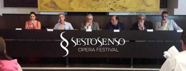 Catania  Presentato Sesto Senso Opera Festival