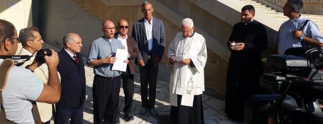 Siracusa   Santuario senza barriere architettoniche, inaugurato il primo ascensore