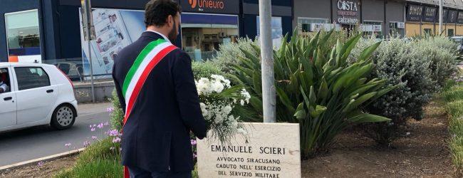 Siracusa   Emanuele Scieri, omaggio del sindaco a 19 anni dalle morte