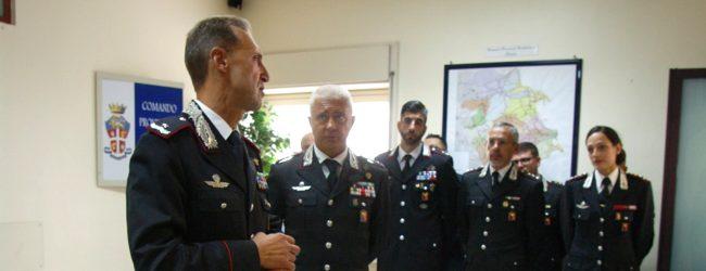 Siracusa | Il generale Riccardo Galletta in visita al comando provinciale dei carabinieri