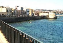 Siracusa | Lungomare di Levante, interdetto l'uso dei marciapiedi a sbalzo
