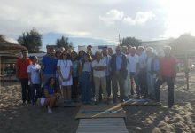 Augusta| Mare ritrovato: inaugurata pedana per disabili sulla spiaggia di Agnone Bagni