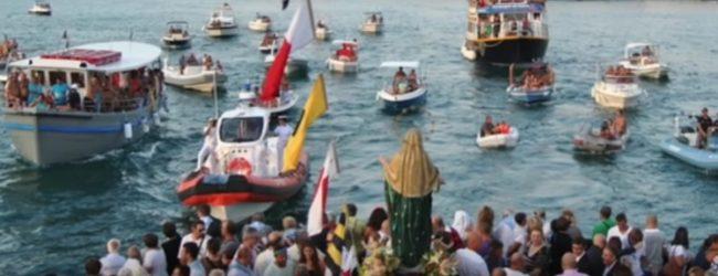 Siracusa | Tradizionale festa in mare nel giorno dell'Assunzione