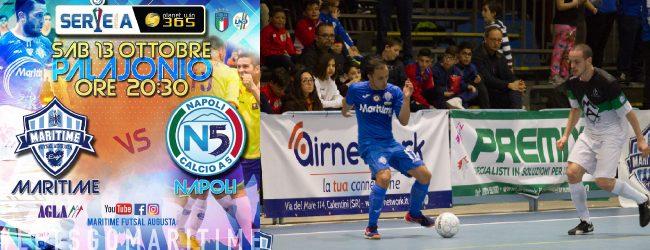 Augusta  Calcio 5, serie A: Maritime, oggi alle 20.30 la sfida al Lollo Caffè Napoli