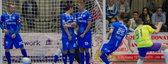 Augusta| Calcio 5, serie A: il Maritime s'esalta contro il Napoli